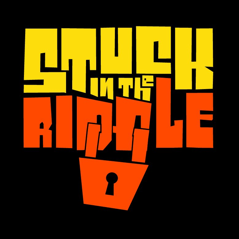 stuck in the riddle huddersfield escape game logo