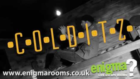Colditz escape room at Enigma Retford