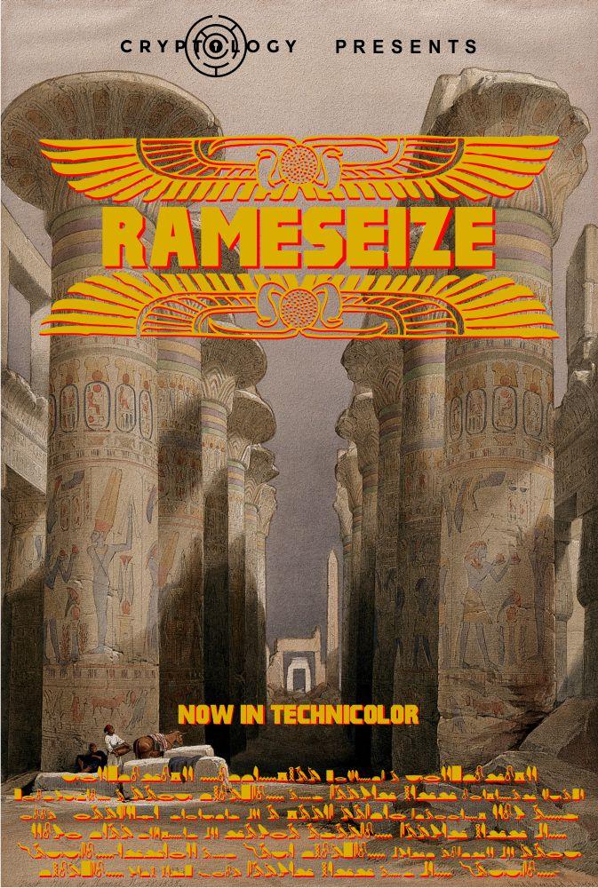Rameseize at Cryptology Nottingham