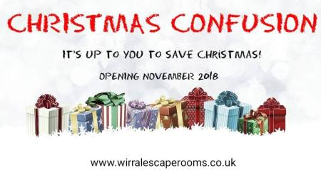 Christmas Confusion at Wirral Escape Rooms