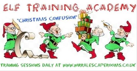 Elf Training Academy at Wirral Escape Rooms