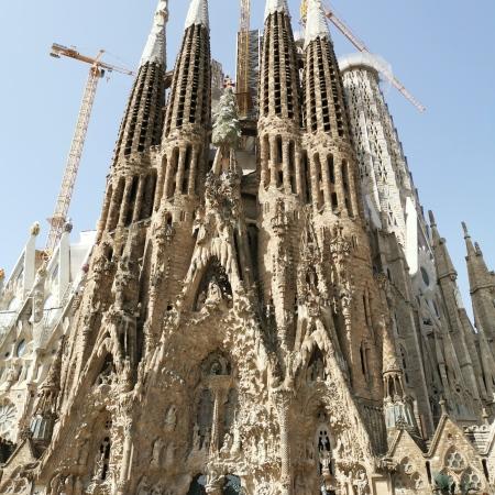 La Segrada Familia Barcelona