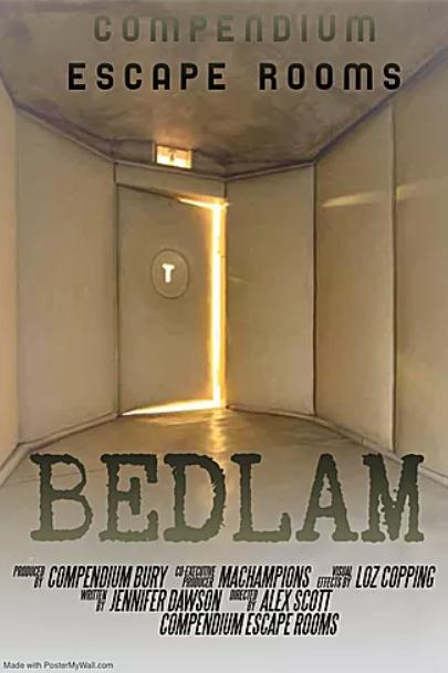 Bedlam at Compendium Bury