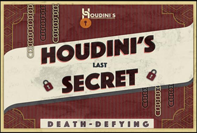 Houdini's Last Secret at Houdini's Escape Room Experience Kegworth