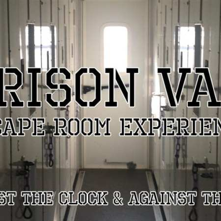 Prison Van at The Panic Room Gravesend